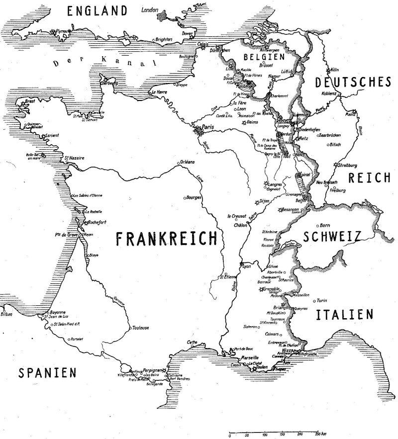 grenzen zu frankreich